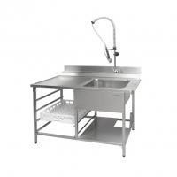 Стол производ. для грязной посуды СГПП-12/7.2 ДН